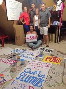Marcha de las Putas Ecuador - Marcha de las Putas Guayaquil 2016 - Asociación Silueta X - Slutwalk Guayaquil Ecuador no más machismo (13)