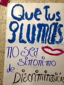 Marcha de las Putas Ecuador - Marcha de las Putas Guayaquil 2016 - Asociación Silueta X - Slutwalk Guayaquil Ecuador no más machismo (2)