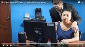 Marcha de las Putas Guayaquil Ecuador contra la Violencia de Género