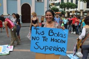 Marcha de las Putas y Putos Guayaquil - Ecuador - Asociación Silueta X (1)