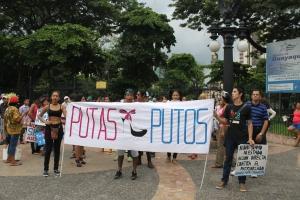 Marcha de las Putas y Putos Guayaquil - Ecuador - Asociación Silueta X (24)