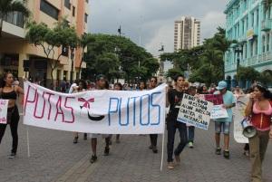 Marcha de las Putas y Putos Guayaquil - Ecuador - Asociación Silueta X (29)