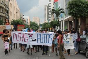 Marcha de las Putas y Putos Guayaquil - Ecuador - Asociación Silueta X (33)