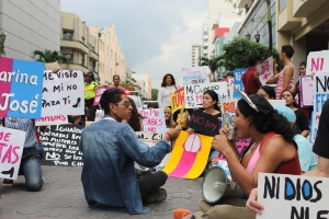Marcha de las Putas y Putos Guayaquil - Ecuador - Asociación Silueta X (47)