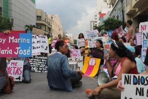 Marcha de las Putas y Putos Guayaquil - Ecuador - Asociación Silueta X (48)