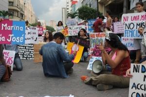 Marcha de las Putas y Putos Guayaquil - Ecuador - Asociación Silueta X (49)