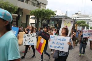 Marcha de las Putas y Putos Guayaquil - Ecuador - Asociación Silueta X (56)