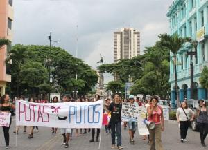 Marcha de las Putas y Putos Guayaquil - Ecuador - Asociación Silueta X con Diane Rodriguez (16)