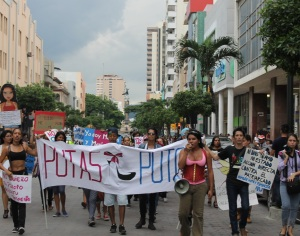 Marcha de las Putas y Putos Guayaquil - Ecuador - Asociación Silueta X con Diane Rodriguez (19)