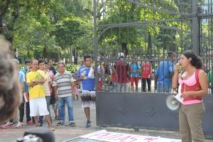 Marcha de las Putas y Putos Guayaquil - Ecuador - Asociación Silueta X con Diane Rodriguez (2)