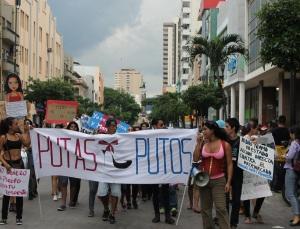 Marcha de las Putas y Putos Guayaquil - Ecuador - Asociación Silueta X con Diane Rodriguez (21)