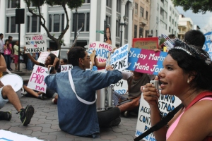 Marcha de las Putas y Putos Guayaquil - Ecuador - Asociación Silueta X con Diane Rodriguez (23)