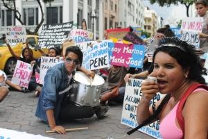 Marcha de las Putas y Putos Guayaquil - Ecuador - Asociación Silueta X con Diane Rodriguez (24)