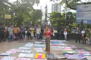 Marcha de las Putas y Putos Guayaquil - Ecuador - Asociación Silueta X con Diane Rodriguez (5)