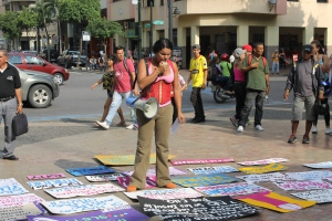 Marcha de las Putas y Putos Guayaquil - Ecuador - Asociación Silueta X con Diane Rodriguez (6)
