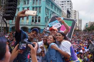 Vista desde la Plataforma del Festival organizada por la Federación Ecuatoriana de Organizaciones LGBTI (4)