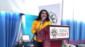 Diane Rodríguez, sobre transfeminismo en foro académico por el día internacional de la mujer en Esmeraldas