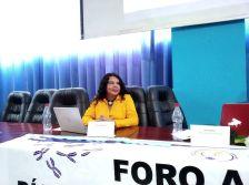 Diane Rodríguez, sobre transfeminismo en foro académico por el día internacional de la mujer en la provincia de esmeraldas