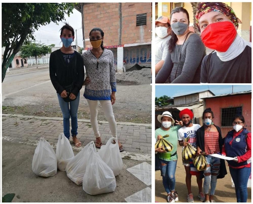 Colectivo PIL LGBT de Pedro Carbo, Isidro Ayora y Lomas de Sargentillo miembro de la Federación realiza gestiones para dar canastas de alimentos por Covid 19 en Ecuador 10