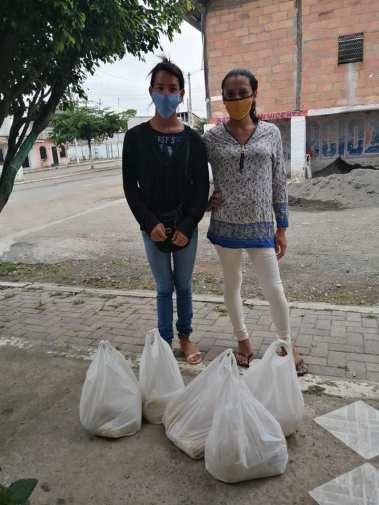 Colectivo PIL LGBT de Pedro Carbo, Isidro Ayora y Lomas de Sargentillo miembro de la Federación realiza gestiones para dar canastas de alimentos por Covid 19 en Ecuador 2