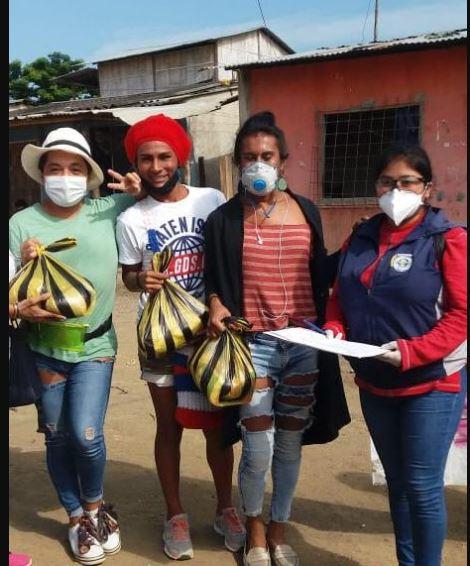 Colectivo PIL LGBT de Pedro Carbo, Isidro Ayora y Lomas de Sargentillo miembro de la Federación realiza gestiones para dar canastas de alimentos por Covid 19 en Ecuador 6