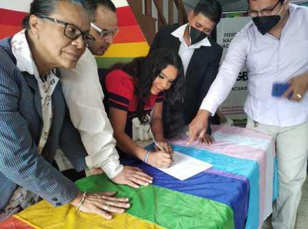 Firma - ACCIÓN DE PROTECCIÓN CONTRA EL CONSEJO PARA LA IGUALDAD DE GÉNERO PARA LA CONFORMACIÓN DEL CONSEJO CONSULTIVO LGBTI - Asociación Silueta X - Campaña Tiempo de Igualdad Diane Rodríguez Z