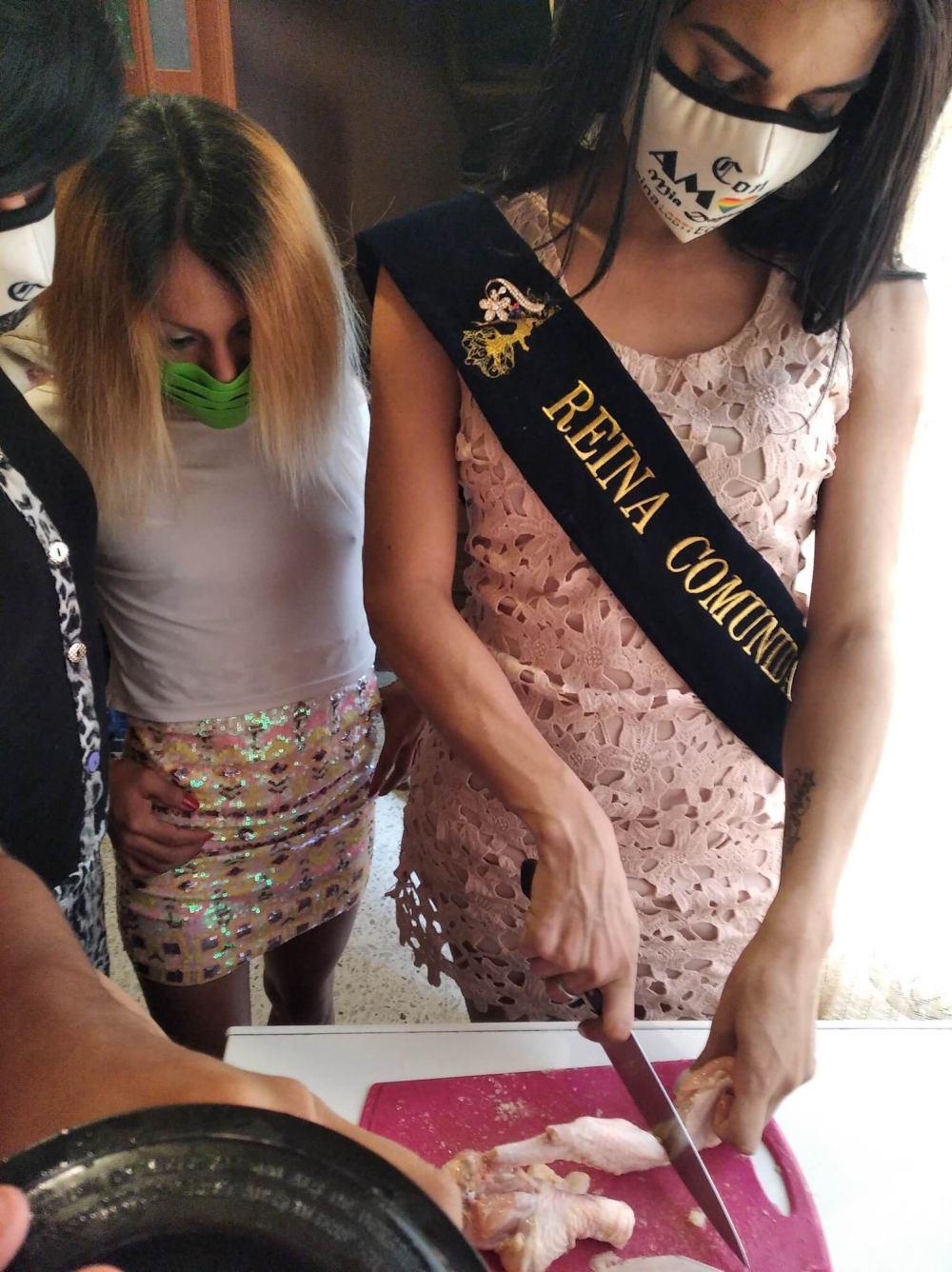 Inauguración del Primer Comedor Comunitario Trans en Guayaquil - Ecuador iniciativa de la Asociación Silueta X (1)
