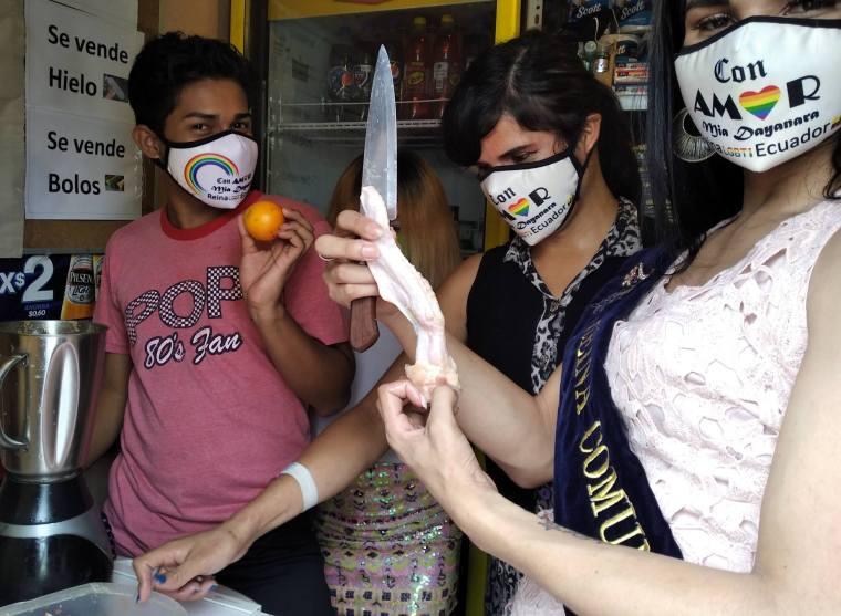 Inauguración del Primer Comedor Comunitario Trans en Guayaquil - Ecuador iniciativa de la Asociación Silueta X (17)