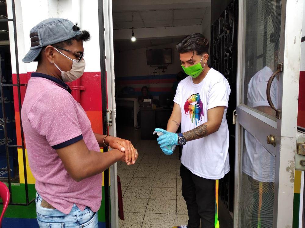 Inauguración del Primer Comedor Comunitario Trans en Guayaquil - Ecuador iniciativa de la Asociación Silueta X (21)
