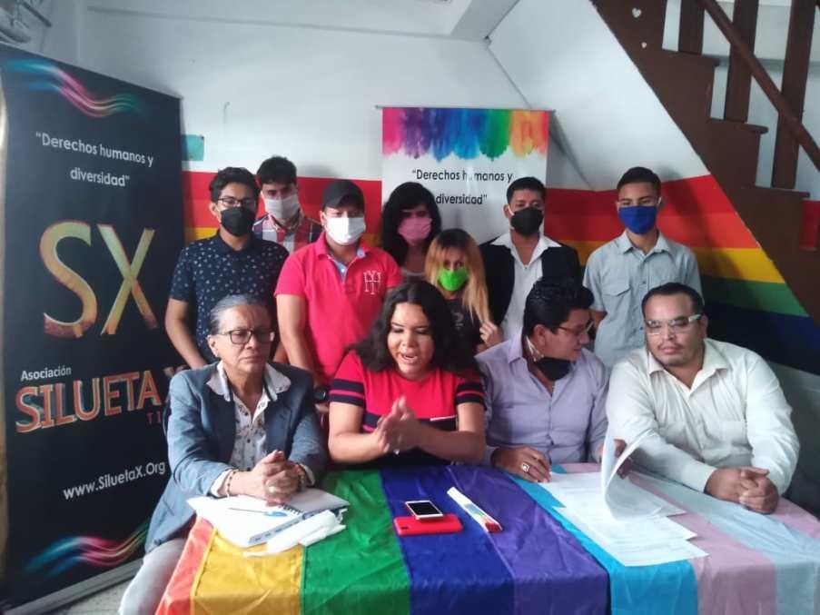 Rueda de Prensa - ACCIÓN DE PROTECCIÓN CONTRA EL CONSEJO PARA LA IGUALDAD DE GÉNERO PARA LA CONFORMACIÓN DEL CONSEJO CONSULTIVO LGBTI - Asociación Silueta X - Campaña Tiempo de Igualdad (6)