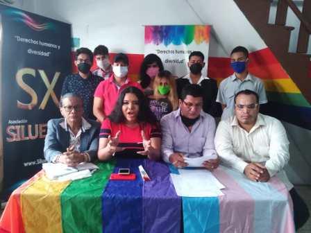 Rueda de Prensa - ACCIÓN DE PROTECCIÓN CONTRA EL CONSEJO PARA LA IGUALDAD DE GÉNERO PARA LA CONFORMACIÓN DEL CONSEJO CONSULTIVO LGBTI - Asociación Silueta X - Campaña Tiempo de Igualdad (7)