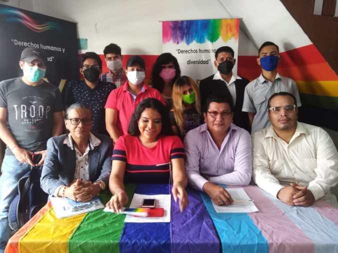 Rueda de Prensa - ACCIÓN DE PROTECCIÓN CONTRA EL CONSEJO PARA LA IGUALDAD DE GÉNERO PARA LA CONFORMACIÓN DEL CONSEJO CONSULTIVO LGBTI - Asociación Silueta X - Campaña Tiempo de Igualdad (10)