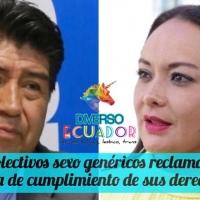 Mesa LGBTIQ+ afirma abandono del Alcalde Yunda y la Secretaria Quiroga