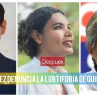 Activista Diane Rodríguez le recuerda la homofobia y transfobia de candidato Guillermo Lasso